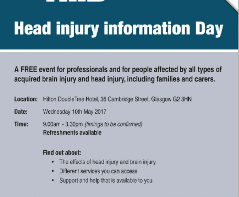 HEAD INFO DAY GLASGOW